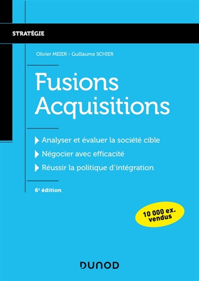 Fusions acquisitions - 6e ed.