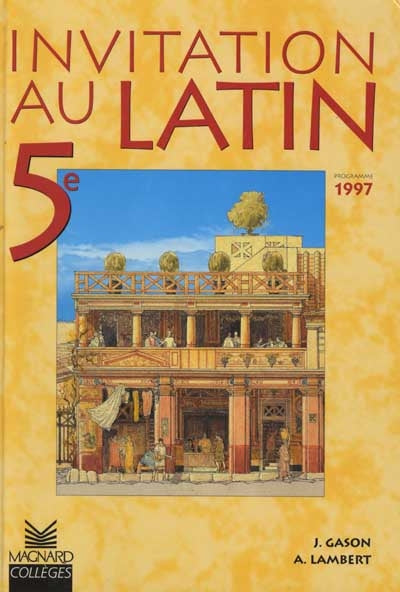 Invitation au latin 5e