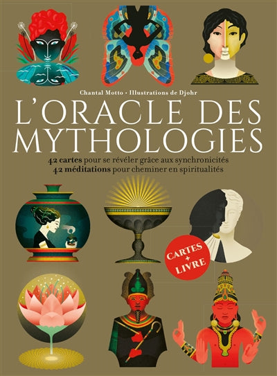 ORACLE DES MYTHOLOGIES  (COFFRET)