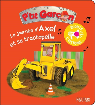 JOURNEE D'AXEL ET SA TRACTOPELLE