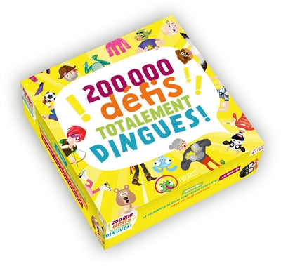 200 000 DEFIS TOTALEMENT DINGUES!