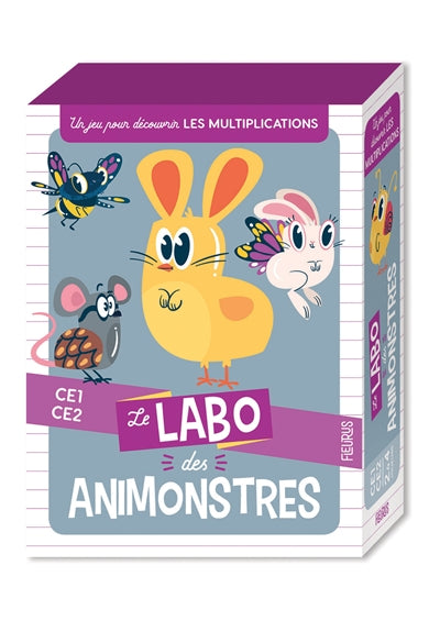 LABO DES ANIMONSTRES  (MULTIPLICATIONS)