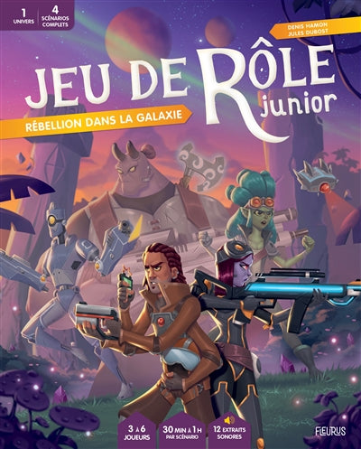 JEU DE ROLE - REBELLION DANS LA GALAXIE