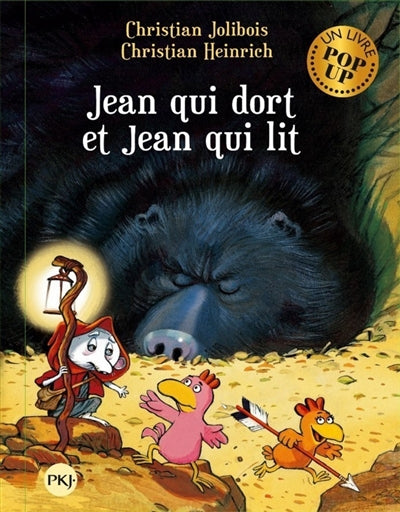 JEAN QUI DORT ET JEAN QUI LIT (POP-UP)