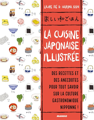 CUISINE JAPONAISE ILLUSTREE