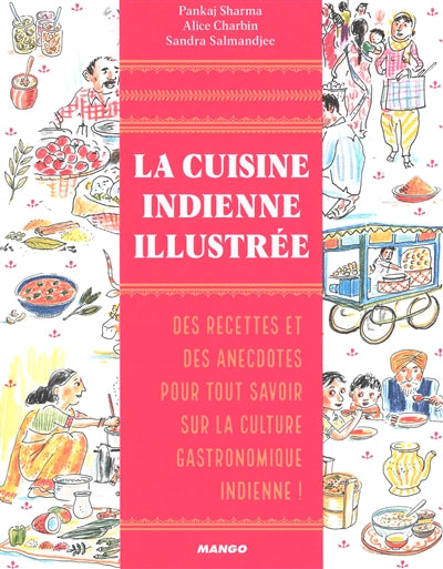 CUISINE INDIENNE ILLUSTREE