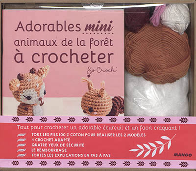 COFFRET MINI CROCHET FORET