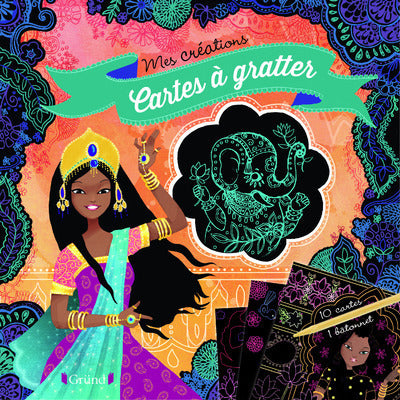 CARTES A GRATTER (PRINCESSES)