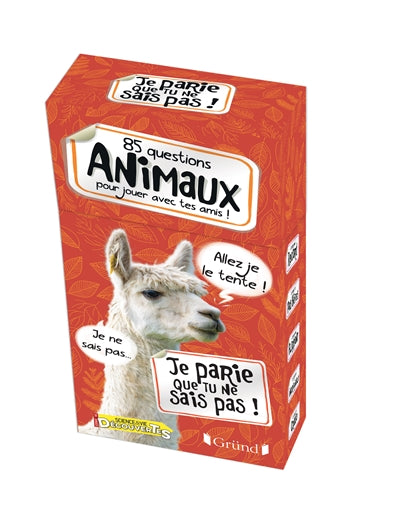 85 QUESTIONS ANIMAUX