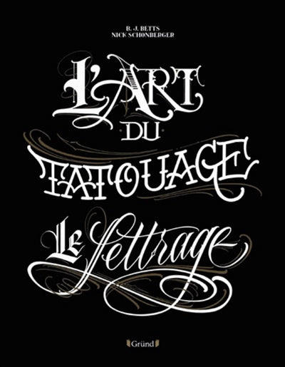 ART DU TATOUAGE : LE LETTRAGE