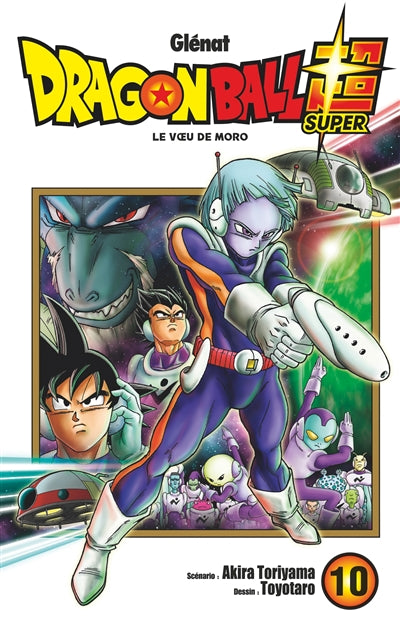 Dragon ball super T10 - Le voeu de Moro