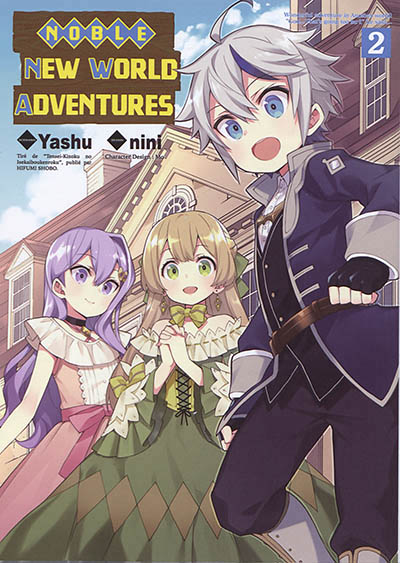 NOBLE NEW WORLD ADVENTURES T.02