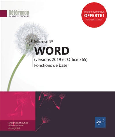 Word (version 2019 et office 365) - Fonctions de base