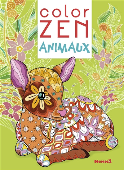 COLOR ZEN ANIMAUX (FAON)
