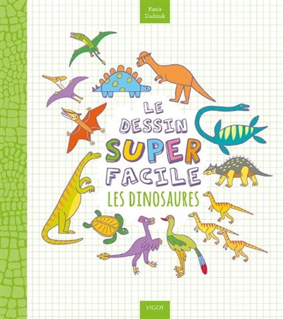 Dessin superfacile : Les dinosaures
