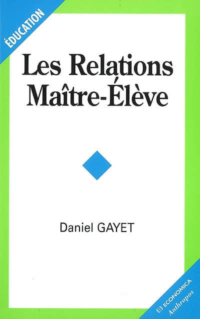 RELATIONS MAITRE-ELEVE