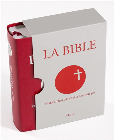 BIBLE SOUS COFFRET -TRADUCTION OFFICIELLE LITTURGIQUE