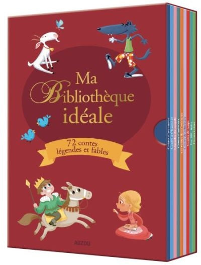 MA BIBLIOTHEQUE IDEALE : 72 CONTES LEGENDES ET FABLES