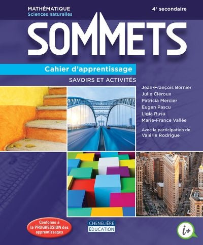 Sommets SN (secondaire 4)