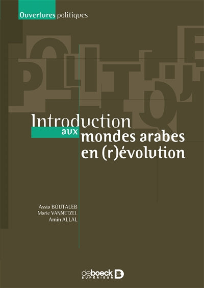 INTRODUCTIONS DES MONDES ARABES REVOLUTIO