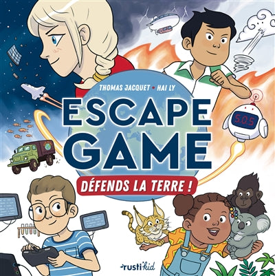 ESCAPE GAME  DEFENDS LA TERRE