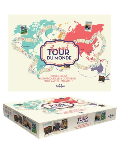 GRAND TOUR DU MONDE LONELY PLANET -1ER ED