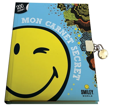 SMILEY : MON CARNET SECRET AVEC 200 STICKERS