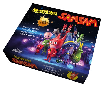SAMSAM ESCAPE BOX (COFFRET)
