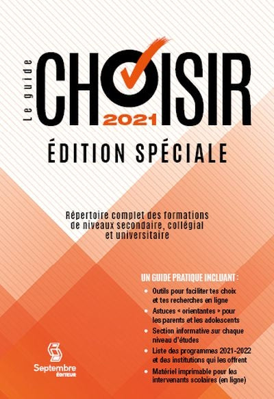 GUIDE CHOISIR 2021 ED.SPECIALE