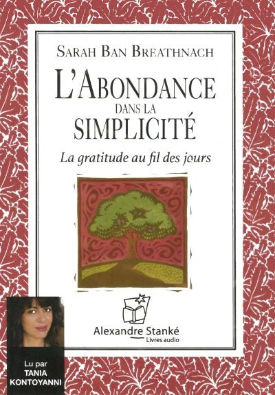 ABONDANCE DANS LA SIMPLICITE -CD MP3