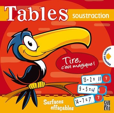 TABLES SOUSTRACTION