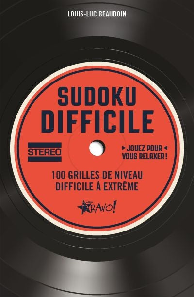 SUDOKU DIFFICILE -STEREO -100 GRILLES...