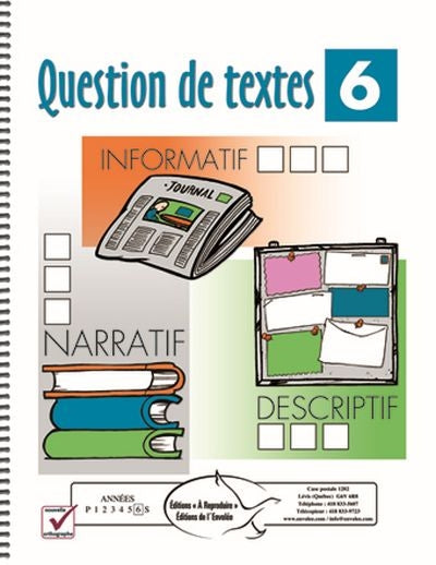 Question de textes 6