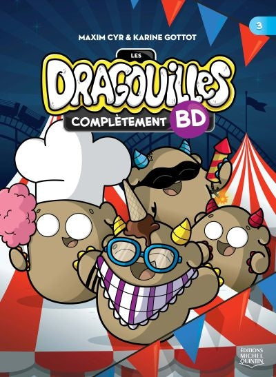 DRAGOUILLES - COMPLETEMENT BD 03