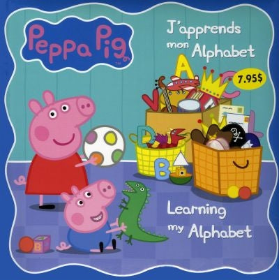 PEPPA PIG -J'APPRENDS MON ALPHABET