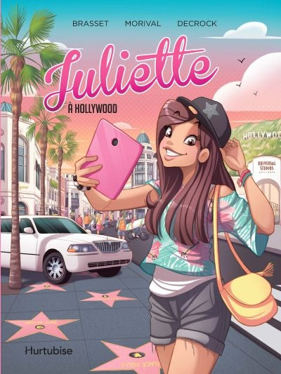 JULIETTE A HOLLYWOOD - LA BD