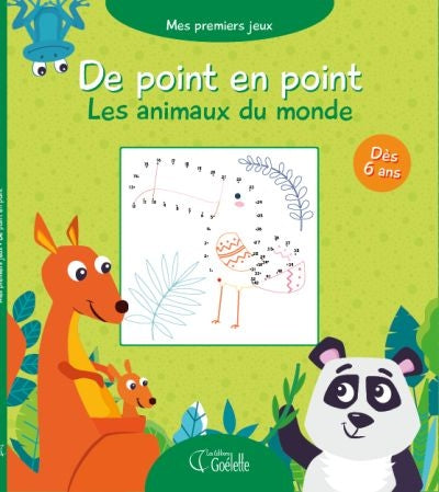 DE POINT EN POINT  LES ANIMAUX DU MONDE