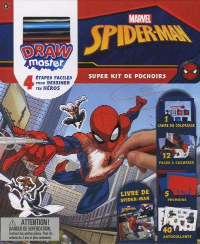 SPIDER-MAN -SUPER KIT DE POCHOIRS