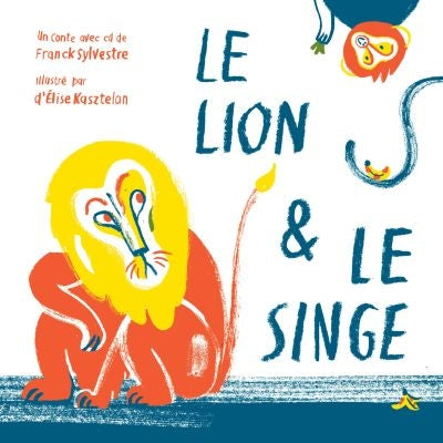 LION ET LE SINGE                + CD