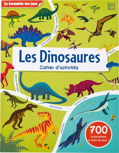 DINOSAURES  - CAHIER D'ACTIVITES