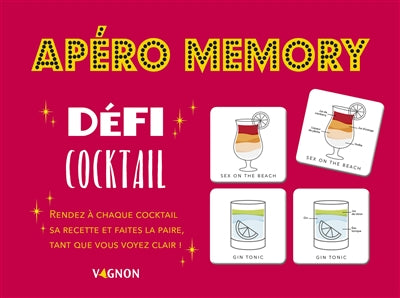 APERO MEMORY - DEFI COCKTAIL
