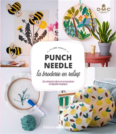 PUNCH NEEDLE, LA BRODERIE EN RELIEF