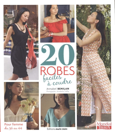 20 ROBES FACILES A COUDRE