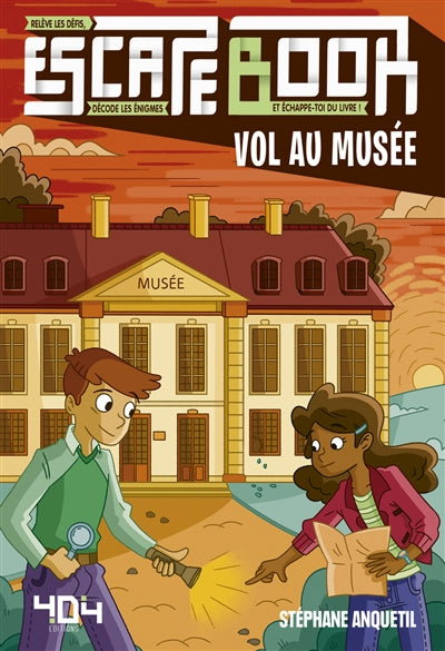 ESCAPE BOOK : VOL AU MUSEE