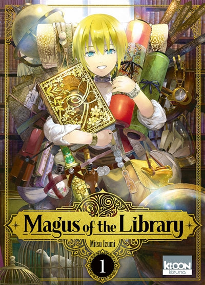 MAGUS OF THE LIBRARY T.01