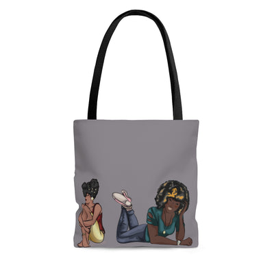 Moodville Tote Bag Grey