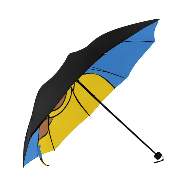 St.Lucia Anti-UV Foldable Umbrella (Underside Printing)