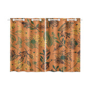 unapologetic Kitchen Curtain 26'' X 39''(2 Pieces)