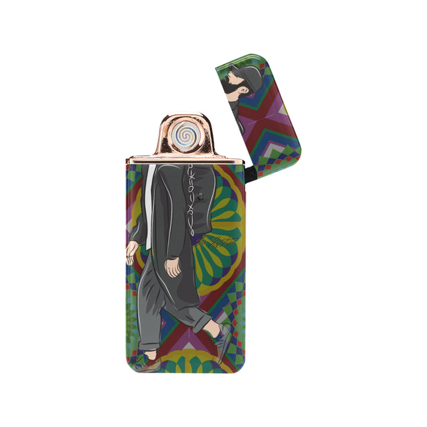 The Hipster USB Rechargeable Lighter(Lateral Button)