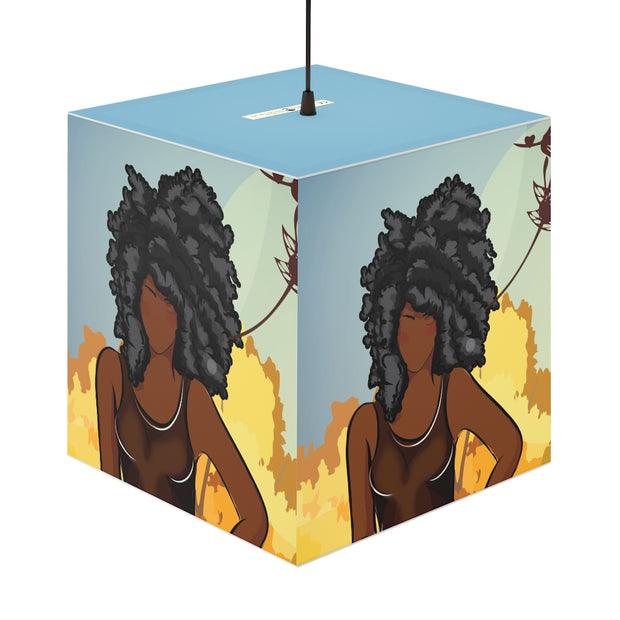 Unapologetic Personalized Lamp